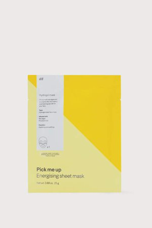 Hydrogel Face Mask - Yellow