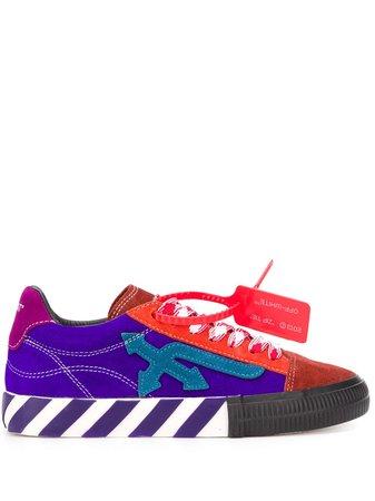 Off-White Arrow Vulcanized low-top Sneakers - Farfetch