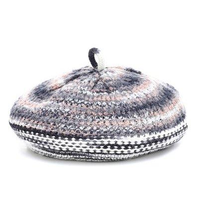 Wool and alpaca-blend hat