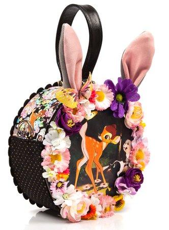 Irregular Choice Womens Black I Am All Twitte Rpated Bag   eBay