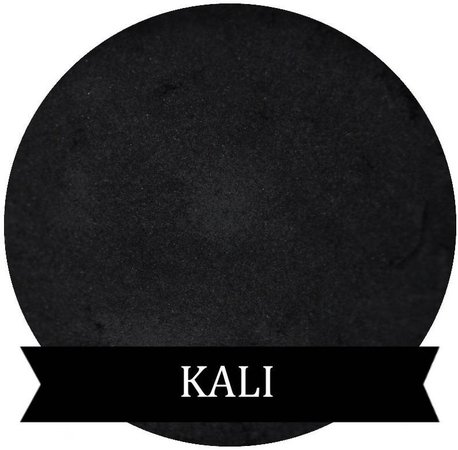 KALI Satin Black Eyeshadow | Etsy