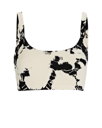 Year of Ours Rib Knit Tie-Dye Bralette | INTERMIX®
