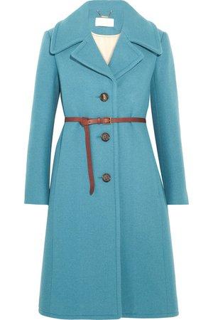 Chloé | Iconic belted wool-blend coat | NET-A-PORTER.COM