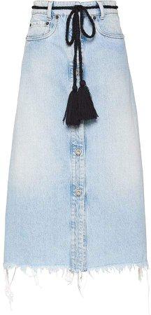 Iconic new denim skirt