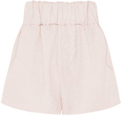 Universal Linen-Blend Shorts