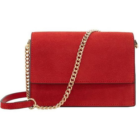 Red Cross body clutch