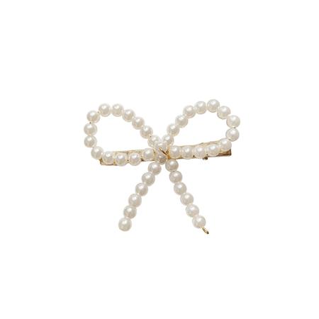 JESSICABUURMAN – GAITE Pearl Bow Hair Clip