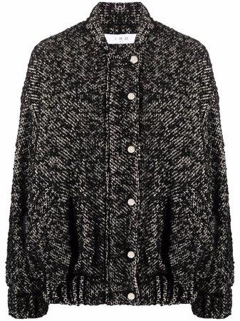 IRO tweed bomber jacket - FARFETCH
