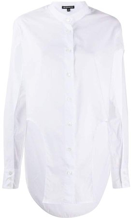 Cut Out Panelled Shirt