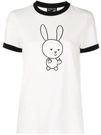 Shop Natasha Zinko graphic print T-shirt with Express Delivery - FARFETCH