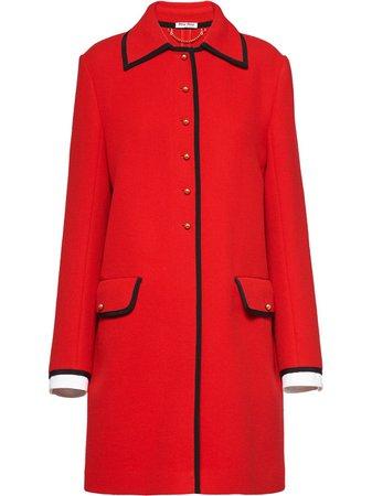 Miu Miu, Contrast Trim Coat