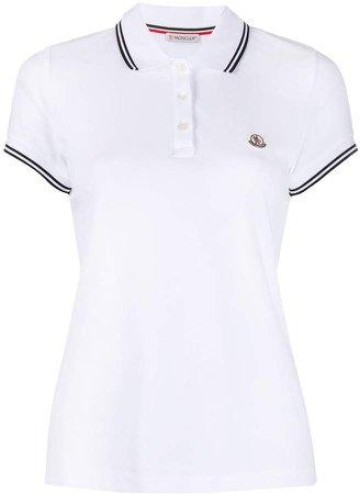 cotton short-sleeve polo shirt