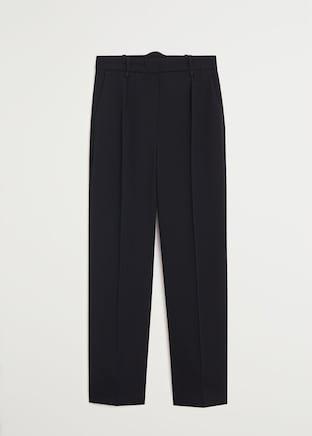 Suit pants - Women   Mango USA black