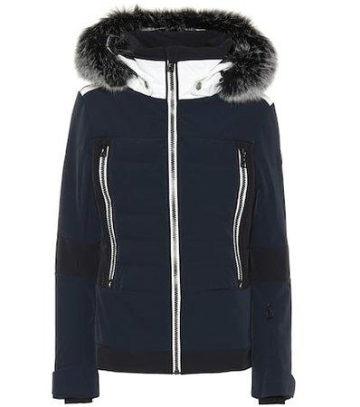 Manou fur-trimmed ski jacket