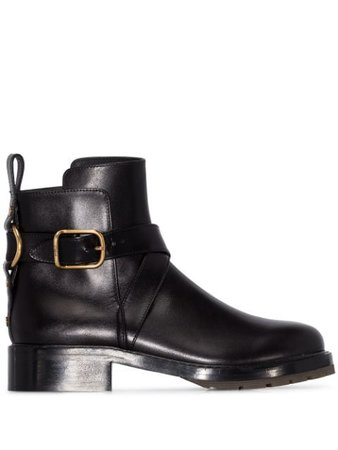 Chloé Buckled Ankle Boots - Farfetch