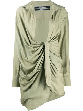 Jacquemus, La Robe Bahia Shirt Dress