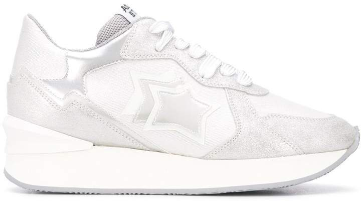 Atlantic Stars Metallic Star Patch Sneakers