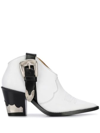 Toga Pulla Buckled Cowboy Boots - Farfetch