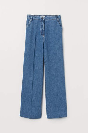 Straight High Jeans - Blue