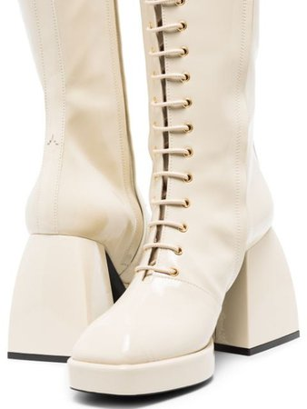 Shop Nodaleto Bulla Ward 85mm knee-high boots with Afterpay - Farfetch Australia
