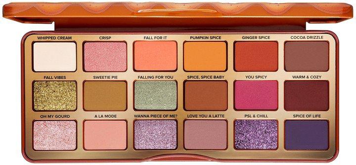 Pumpkin Spice Warm & Spicy Eye Shadow Palette