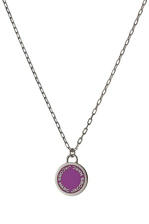 Logo Disc Necklace Gr. One Size