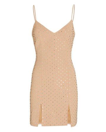 David Koma Crystal Embellished Mini Dress   INTERMIX®