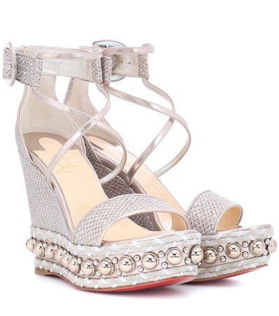 Chocazeppa 120 wedge sandals