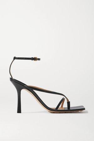 Black Leather sandals | Bottega Veneta | NET-A-PORTER