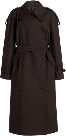 Low Classic Classic Cotton-Gabardine Trench Coat