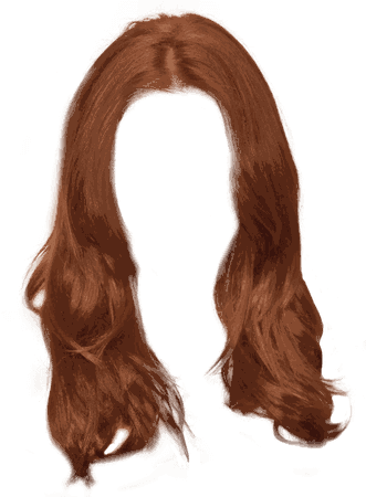 Ginger Long Women Hair transparent PNG - StickPNG