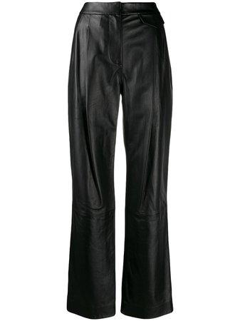 3.1 Phillip Lim Long Leather Pants - Farfetch