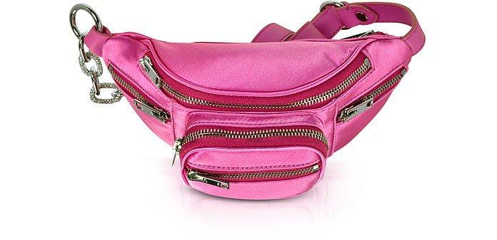 Alexander Wang Azhalea Pink Attica Mini Fanny Xbody Belt Bag at FORZIERI