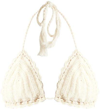 Anna Kosturova Crochet Bikini Top