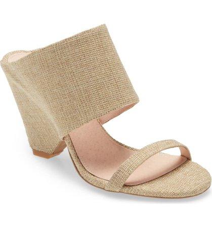Cecilia New York Maison Wide Cuff Wedge Slide Sandal (Women) | Nordstrom