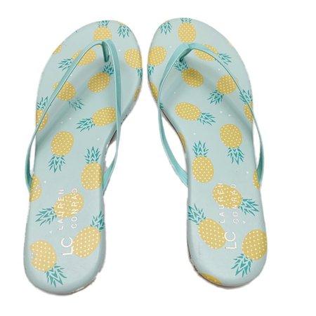 pineapple flip flops - Google Search