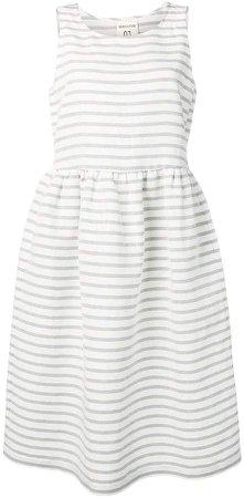 Semicouture striped midi dress