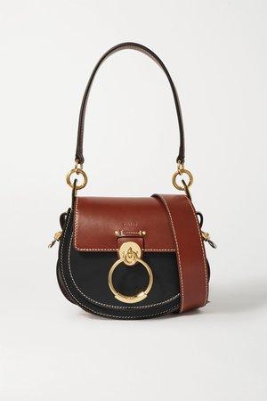 Black Tess small leather shoulder bag | Chloé | NET-A-PORTER