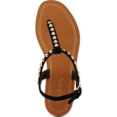 sandal thongs prada -