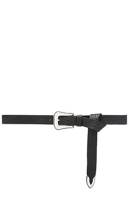 B-Low the Belt Taos Mini Waist Belt in Black & Silver | REVOLVE