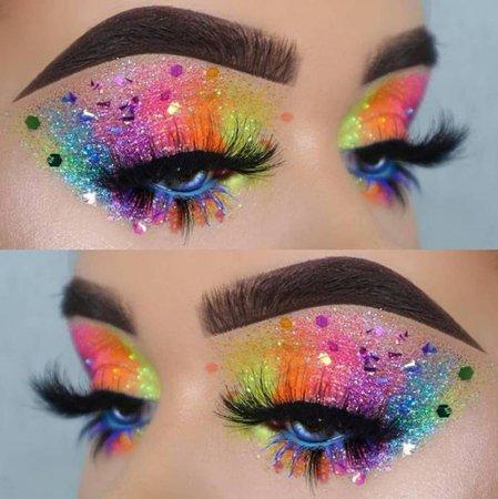 Rainbow Eyeshadow