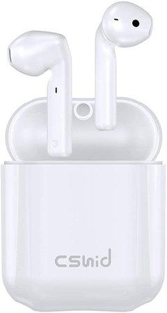 Cshidworld Wireless Headphones, Bluetooth 5.0 Earbuds: Amazon.co.uk: Electronics