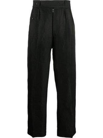Maison Margiela straight-leg linen trousers