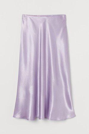Calf-length Skirt - Light purple - Ladies | H&M US
