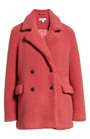 BP. Textured Double Breasted Coat | Nordstrom