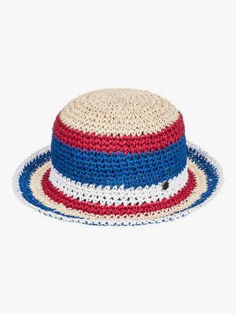 Summer Mood Straw Sun Hat 194476653713   Roxy