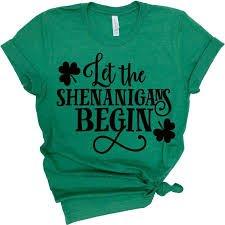 st.patricks day shirt