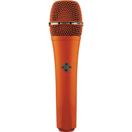 Microphone orange