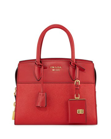 Prada Esplanade Small City Satchel Bag | Neiman Marcus