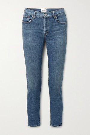 Toni Mid-rise Skinny Jeans - Mid denim